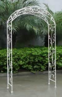 Garden Arches Bentley Garden Wrought Iron Garden Arch Buydirect4u