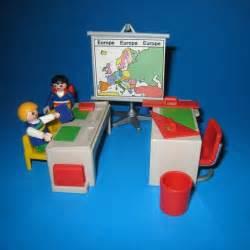 playmobil ecole salle de classe avec bureau d 233 colier