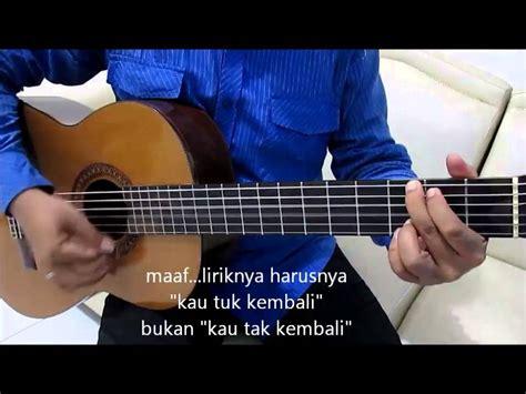 tutorial gitar naff kenanglah aku belajar kunci gitar naff kenanglah aku strumming mudah
