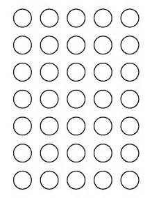 circle templates to print printable 1 inch circle template
