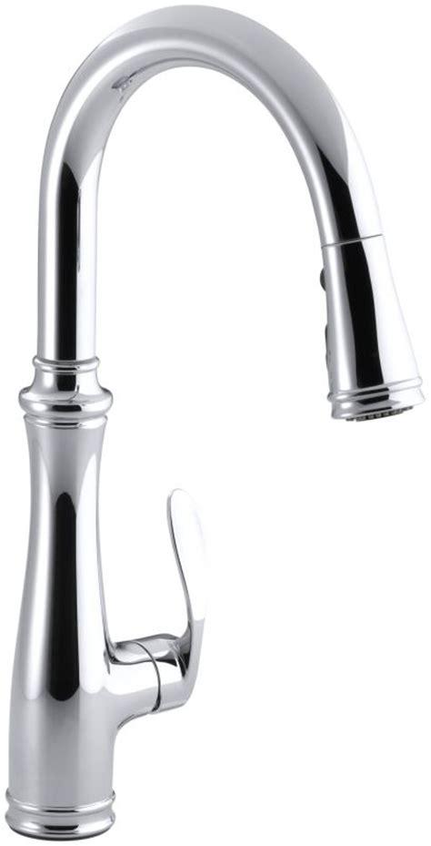 kohler cruette 174 single hole or three hole kitchen sink kohler k 560 cp polished chrome bellera single hole or