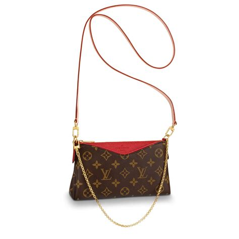 pallas clutch monogram canvas handbags louis vuitton