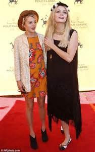 Mischa Hania Barton Shopping by Mischa Barton Spends Day At The Polo In California Daily