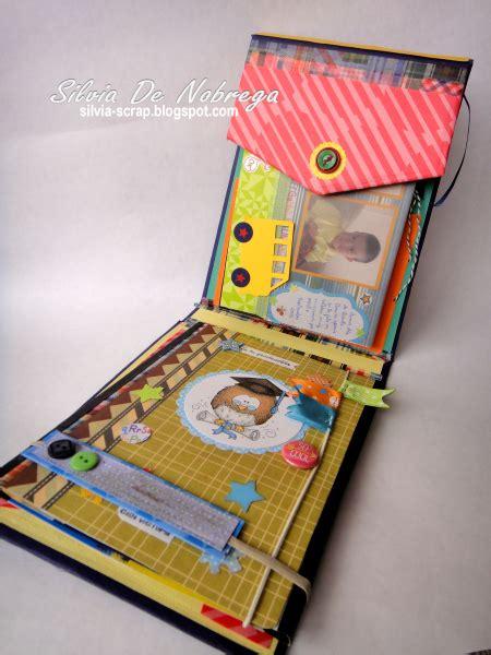 imagenes recuerdos escolares silvia scrap mini album en forma de mochila recuerdos