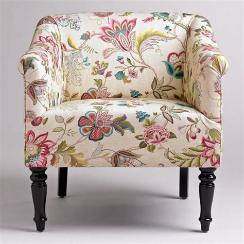 Floral Living Room Chairs Floral Print Accent Chairs For Existing Home Living Room Firefoux