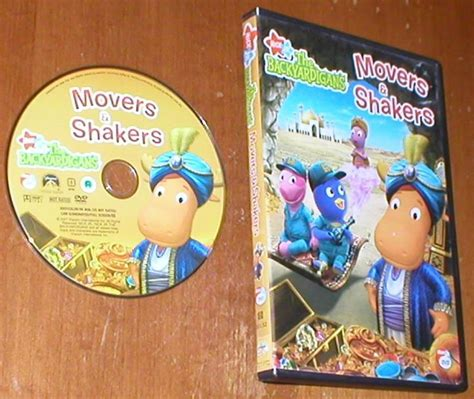 Backyardigans Movers And Shakers The Backyardigans Movers Shakers From Nick Jr Dvd