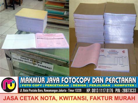 Faktur By Jaya Makmur Si26 jasa cetak nota cetak faktur cetak kwitansi cetak surat