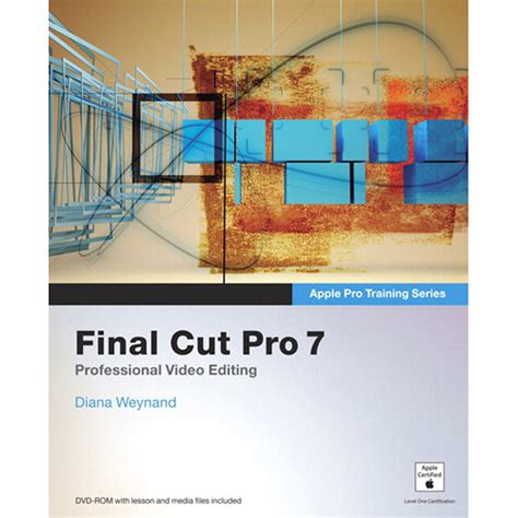 final cut pro zip download peachpit press apple pro train series final cut 9780132779982