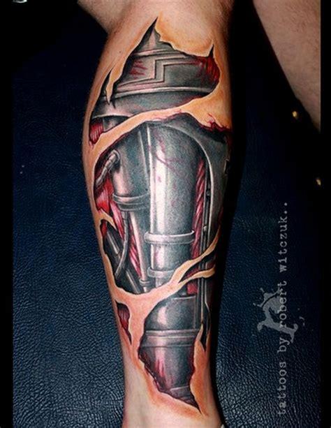 tattoo 3d cyborg tatuagem 3d de perna cyborg tatoo pinterest cyborgs
