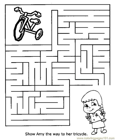 printable barbie maze maze 01 coloring page free mazes coloring pages