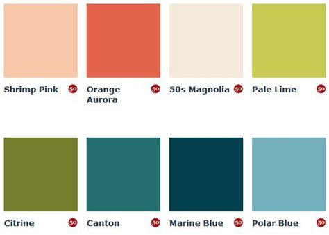 mid century color schemes mad for mid century mid century paint colors from england