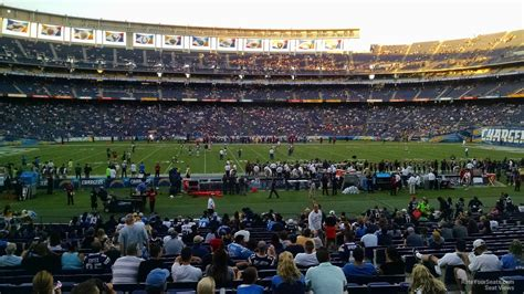 san diego charger seating chart san diego chargers seating guide qualcomm stadium