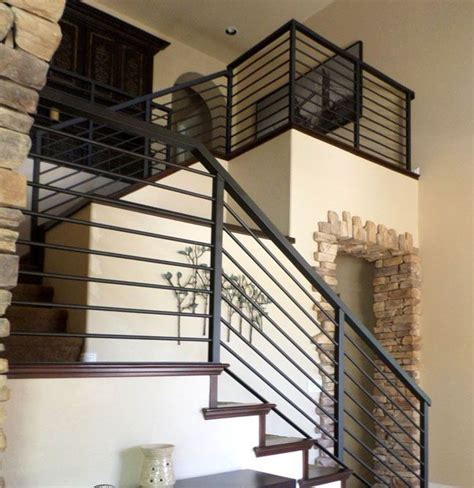 Metal Banister Railing by Best 25 Metal Stair Railing Ideas On
