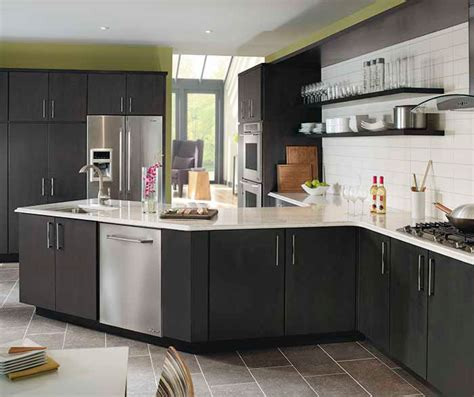 dark grey kitchen cabinets dark gray kitchen cabinets kemper cabinetry