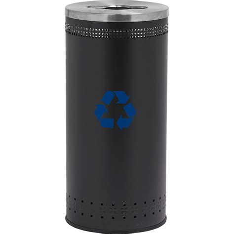 25 gallon recycling bin recycling containers for office