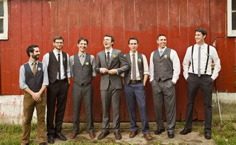Mens Country Wedding Attire – Simple but classic mens wedding attire   rustic wedding
