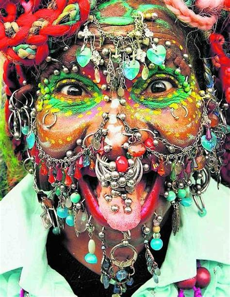 tattooed lady edinburgh elaine davidson loves piercings ultrafeel tv