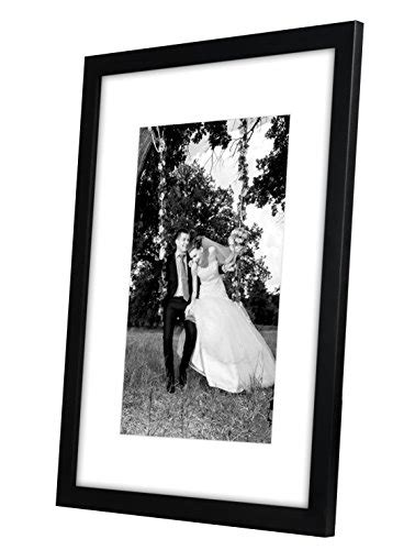 12x16 Matted Picture Frame by 12x16 Black Picture Frame Matted To Fit Pictures 8x12