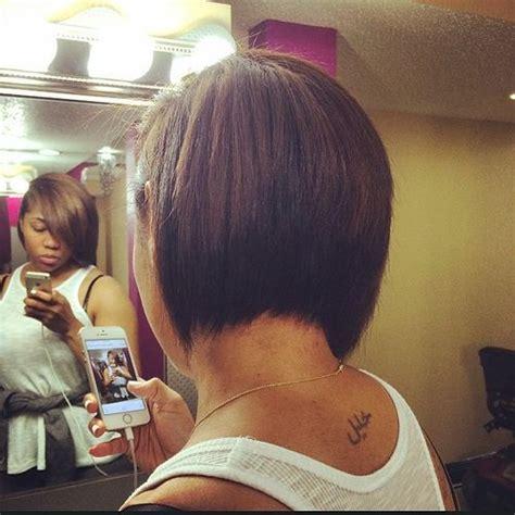 rear view bob cuts for black women 50 trendy inverted bob haircuts