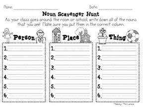 step into 2nd grade with mrs lemons nouns and mudge