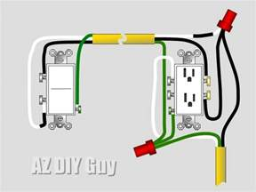az diy s projects wiring a split switched receptacle