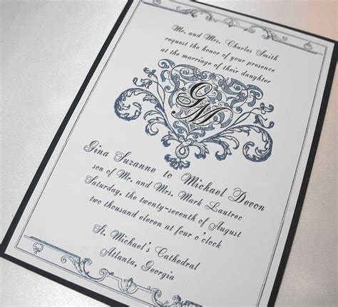 Royal Invitation Letter Exle A Royal Invitation Ephemeralbytes