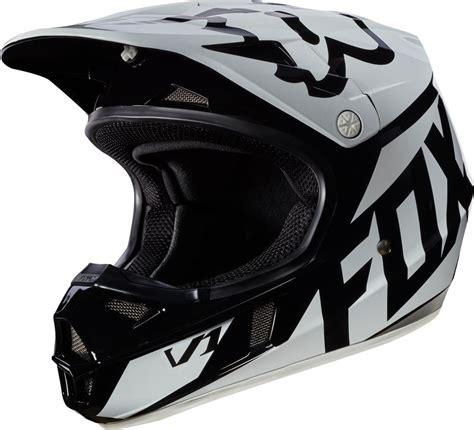 discount motocross 119 95 fox racing youth v1 race mx motocross helmet 995527