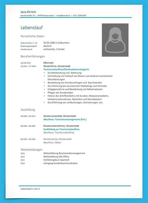 Lebenslauf Arbeitssuchend Nach Elternzeit Lebenslauf Beispiele F 252 R Die Perfekte Bewerbung Bewerbung Net