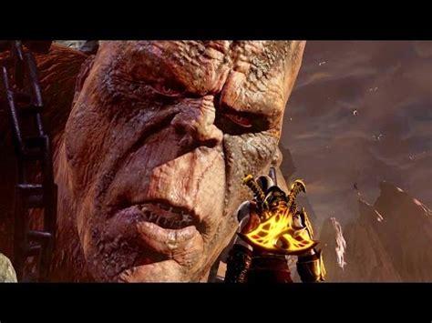 film god of war mp4 god of war 3 remastered cronos boss fight ps4 1080p