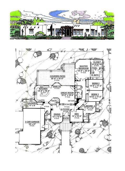 santa fe floor plans santa fe house floor plans house plans