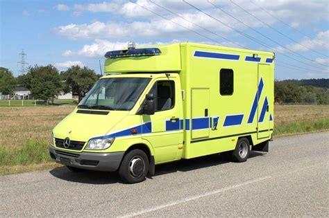 mercedes sprinter 416 cdi rtw ambulance ambulance