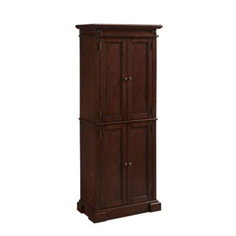 Home Depot Kitchen Pantry by Americana Wood Kitchen Pantry In Cherry 5005 69 The Home