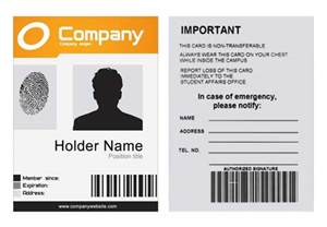 Id Template by Company Id Template Psd 171 Xonekdesign