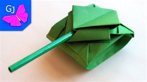 How To Make A Tank Out Of Paper - origami tank paper crafts
