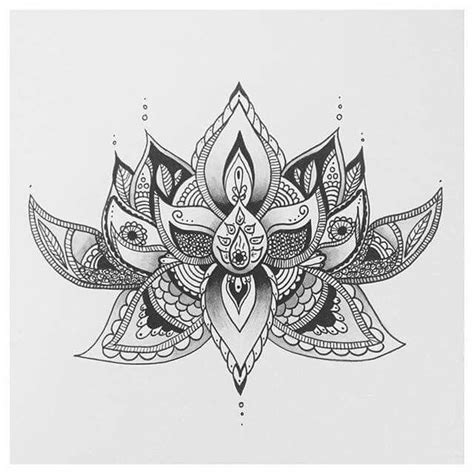 lotus designs coloring pages 26 best tattoos images on pinterest tattoo ideas shield
