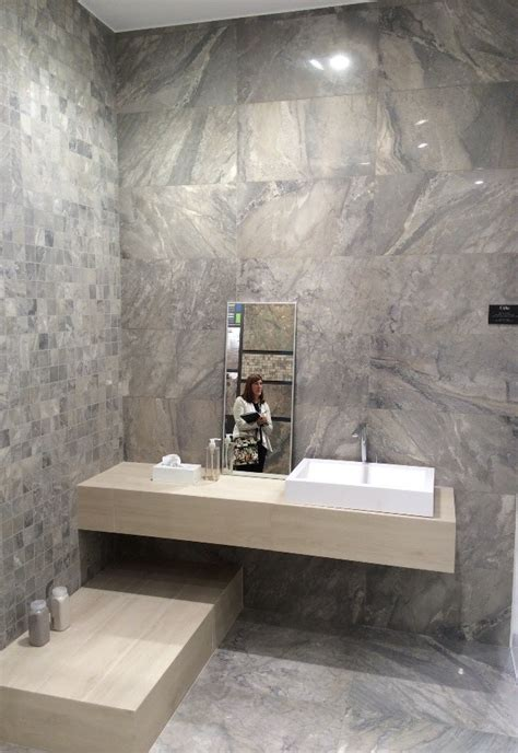 Bathroom Floor And Wall Tile Ideas marble and wood look tile top tile trends from cevisama