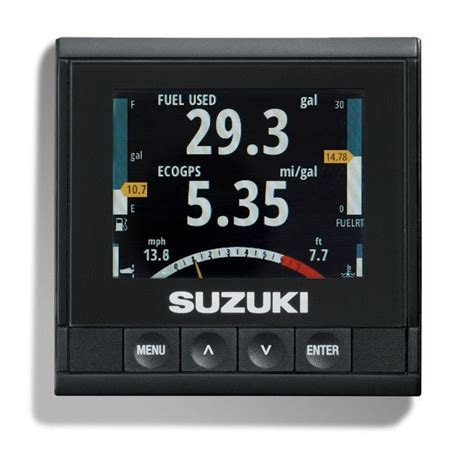 Suzuki Marine Gauges 990c0 01c10 Suzuki Outboard Smis Multifunction Lcd