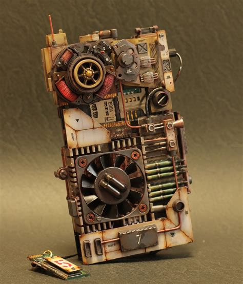 Gothic Victorian Furniture steampunk smartphone case with cooling fans