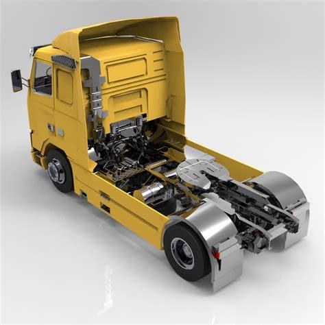 truck models volvo truck for 3d studio max 3d models digimation modelbank