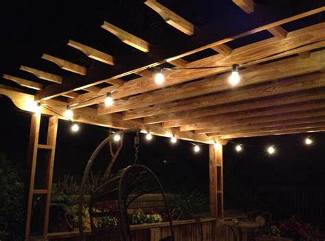 Outdoor Deck String Lighting Battery Operated Patio String Lights Interior Design Ideas