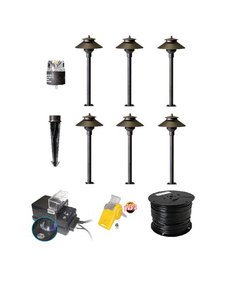 Led Landscape Lighting Kits Best Shop Led Landscape Lights Garden Lighting Diy Kit