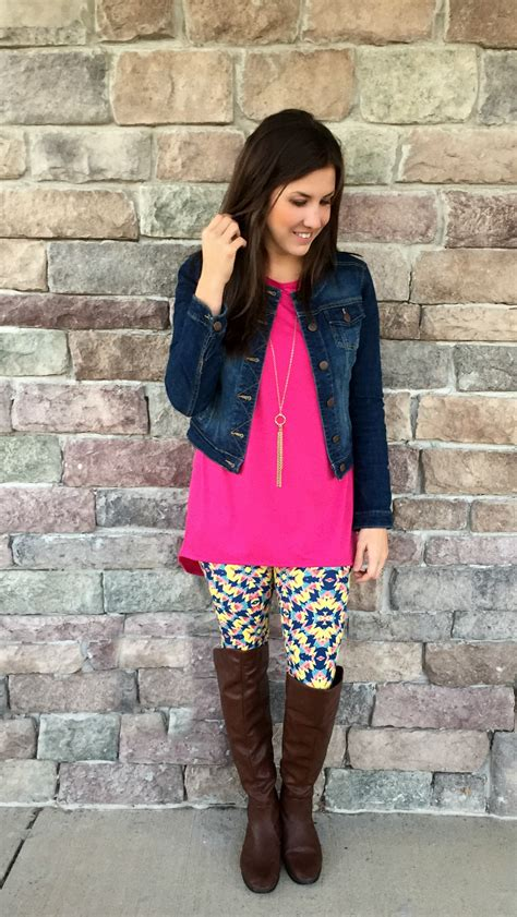Sxb One Print Tank Top And Legging lularoe clothing 100 gift card giveaway momma in flip