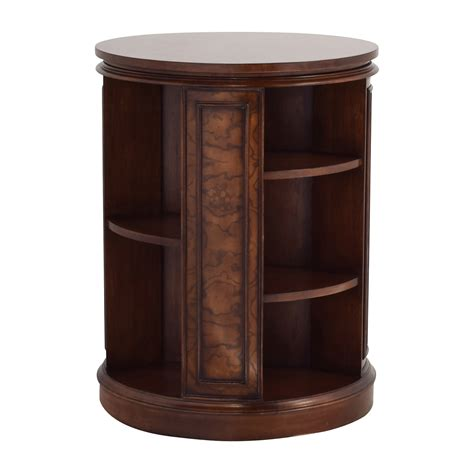 bookcase side table 82 off safavieh safavieh rotating side table bookcase