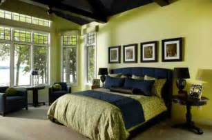 bedroom ideas american style decoration green