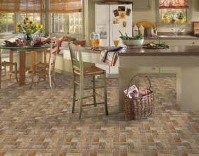 Kitchen Tile Floor Ideas by Kitchen Floor Tile Designs By Armstrong Lancelot Cinnabar