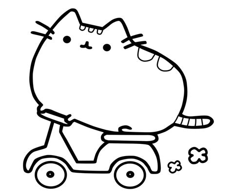 printable coloring pages pusheen pusheen printable coloring page 2 printable coloring pages