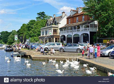 thames riverside thames riverside at walton on thames surrey england