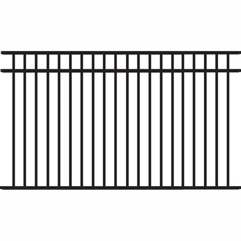 picket fence sections home depot veranda glendale 4 ft h x 8 ft w white vinyl picket