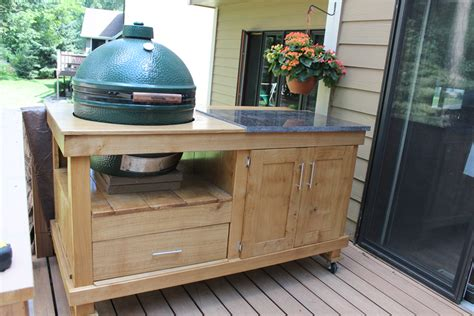 how to build a rolling cart for your grill fullact
