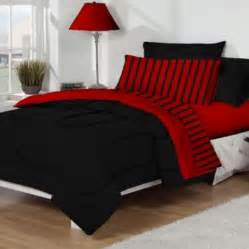 Red And Black Comforter Queen Red And Black Bedding In A Bag Red And Black Bedding In A